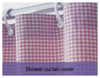 Shower curtain cover