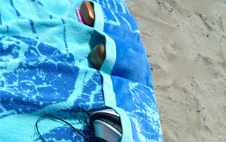 Pocketed Beach Towel