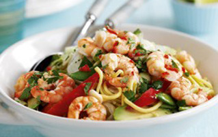 Prawn and Noodle Salad