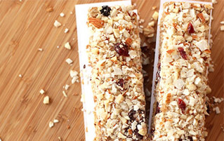Berry Coconut Almond Protein Bars