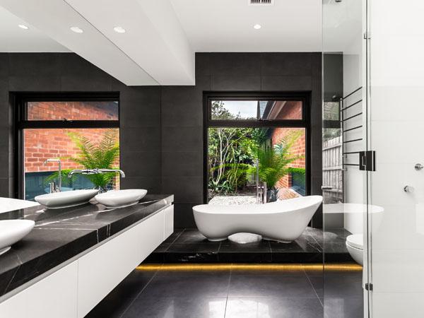 1 interior decor decorating ideas for Bathroom designs za